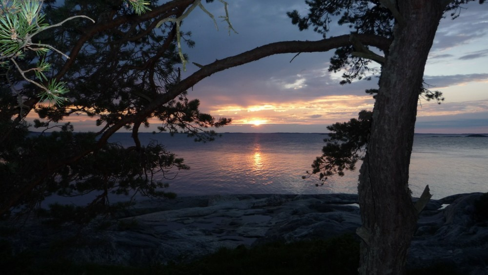 Turku Archipelago sunset