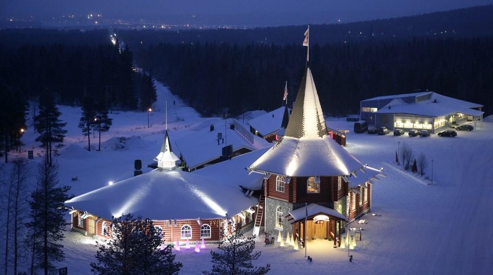 Santa Claus Village in Rovaniemi, Lapland Finland