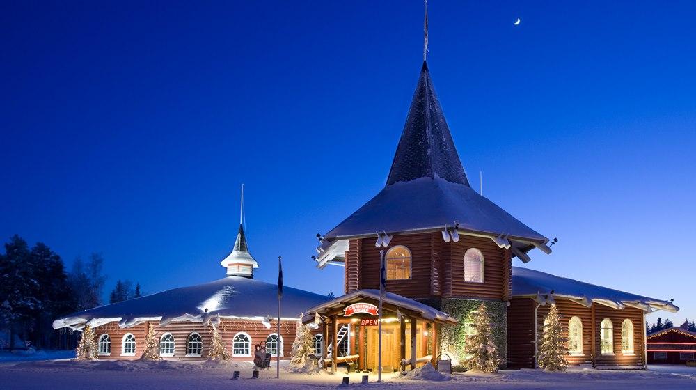 Christmas house  rovaniemi