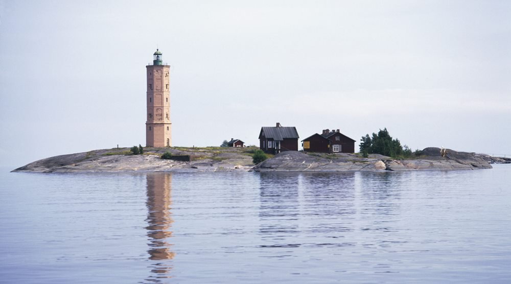 Archipelago islands in Finland