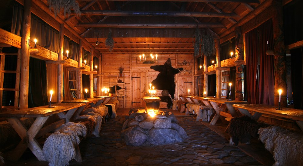 Rosla viking village